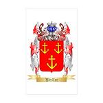 Weiller Sticker (Rectangle 50 pk)
