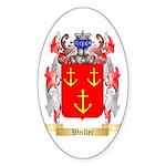 Weiller Sticker (Oval 10 pk)