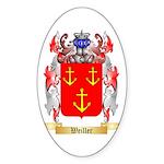 Weiller Sticker (Oval 50 pk)