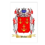 Weiller Postcards (Package of 8)