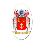 Weiller 35x21 Oval Wall Decal