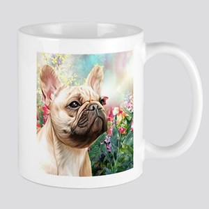 French Bulldog Painting Mugs