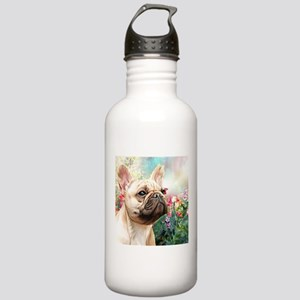 French Bulldog Painting Water Bottle