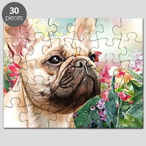 French Bulldog Painting Puzzle