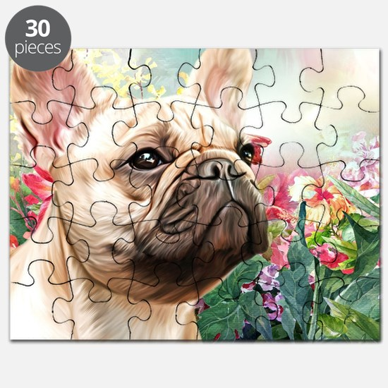 French Bulldog Painting Puzzle