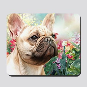 French Bulldog Painting Mousepad