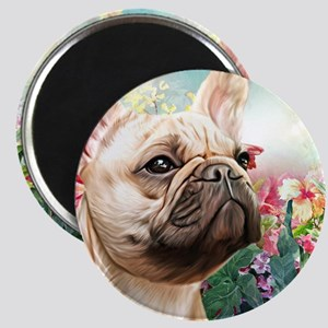 French Bulldog Painting Magnets