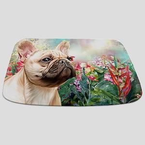 French Bulldog Painting Bathmat