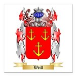 Weill Square Car Magnet 3
