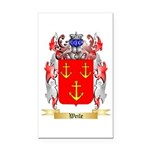 Weile Rectangle Car Magnet