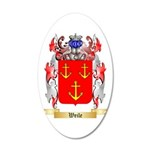 Weile 20x12 Oval Wall Decal