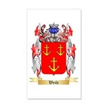 Weile 20x12 Wall Decal