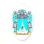 Weiland Oval Car Magnet
