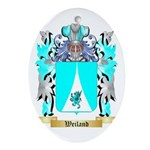 Weiland Oval Ornament