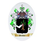 Weidler Oval Ornament
