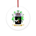 Weidler Round Ornament