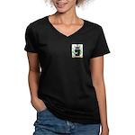 Weidemann Women's V-Neck Dark T-Shirt