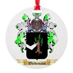 Weidemann Round Ornament
