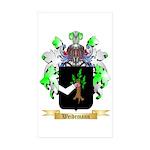 Weidemann Sticker (Rectangle 50 pk)