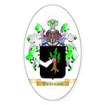 Weidemann Sticker (Oval 10 pk)