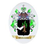 Weidemann Oval Ornament