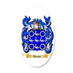 Weeve Oval Car Magnet