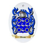 Weeve Oval Ornament