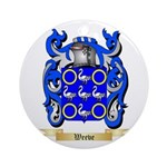 Weeve Round Ornament