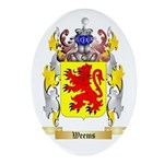 Weems Oval Ornament