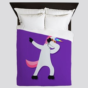 Unicorn Dab Queen Duvet