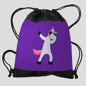 Unicorn Dab Drawstring Bag