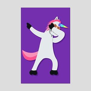 Unicorn Dab Mini Poster Print