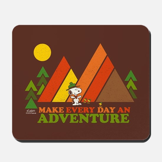 Snoopy-Make Every Day An Adventure Mousepad