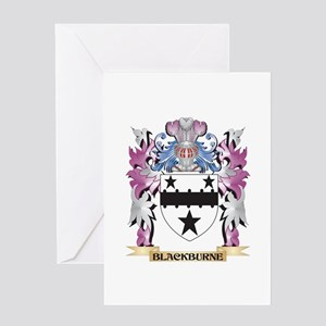 Blackburne Coat of Arms (Family Cre Greeting Cards