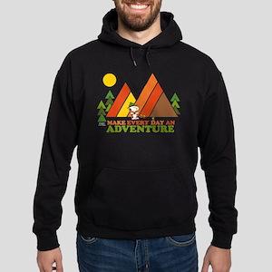 Snoopy-Make Every Day An Adventure Hoodie (dark)