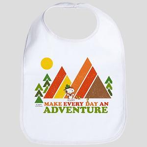 Snoopy-Make Every Day An Adventure Bib