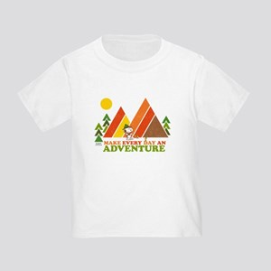 Snoopy-Make Every Day An Adventure Toddler T-Shirt