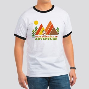 Snoopy-Make Every Day An Adventure Ringer T