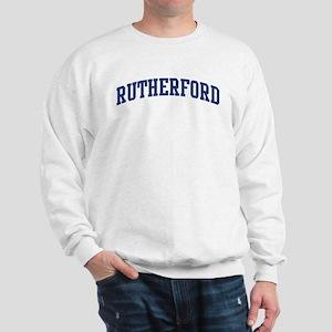 RUTHERFORD design (blue) Sweatshirt