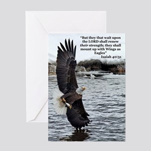 Wide Winged Wonder Greeting Cards