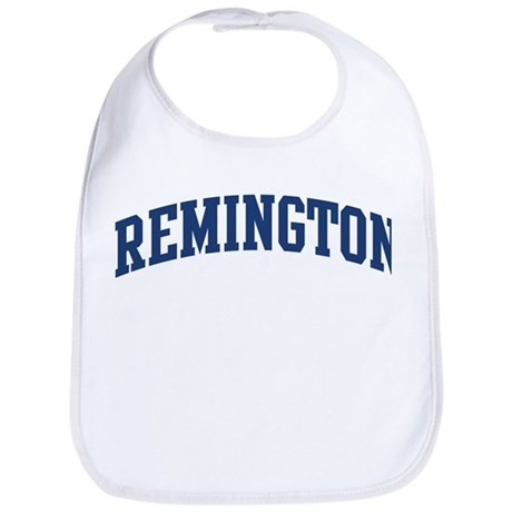 REMINGTON design (blue) Bib