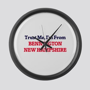 Trust Me, I'm from Bennington New Large Wall Clock