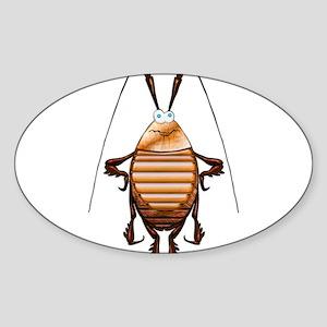 Cockroach 3D Cartoon Sticker