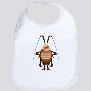 Cockroach 3D Cartoon Bib