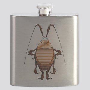 Cockroach 3D Cartoon Flask