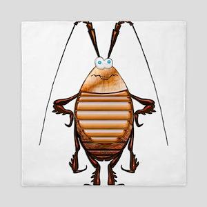 Cockroach 3D Cartoon Queen Duvet