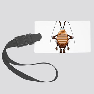 Cockroach 3D Cartoon Large Luggage Tag