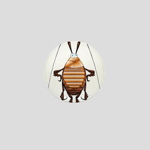 Cockroach 3D Cartoon Mini Button