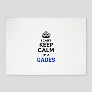 I can't keep calm Im GADES 5'x7'Area Rug