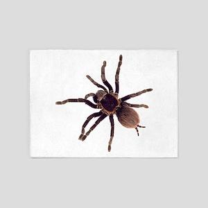Hairy Brown Tarantula 5'x7'Area Rug